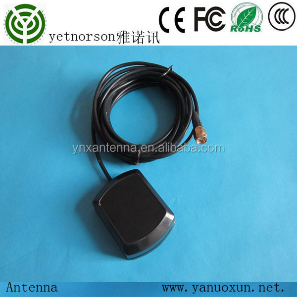 yetnorson made 1575.42mhz satellite navigation external gps antenna for audi