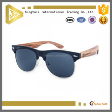fashion wholesale bamboo sun glasses