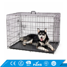 Wholesale Iron Dog Cage Heavy Duty Strong Stainless Steel Foldable Dog Crate
