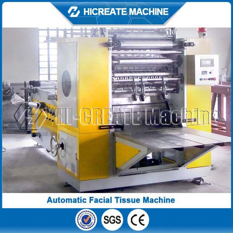 2016 New Condition Product HC-3L Automatic Facial Tissue Making Machine