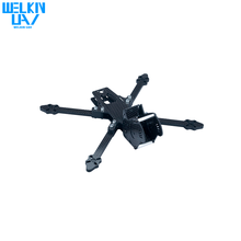 WELKIN 220mm Full Carbon Fiber Frame Kit for FPV Racing Drone Quadcopter-- Kit Only