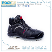 COW leather cheap brand name sport safety shoes