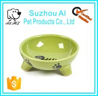 Elevated Pet Feeders High Quality and Safety with Stand Ceramic Dog Bowl
