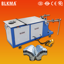 BLKMA round elbow making bending machine / metal sheet elbow maker for sale
