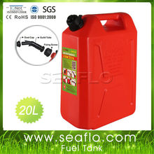 Motorcycle Fuel Tank Jerrycan 20L 5.3 Gallon Plastic Motorcycle Fuel Tank For Boat Yatch Truck
