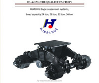 reliable agricultural heavy duty trailer bogie suspension