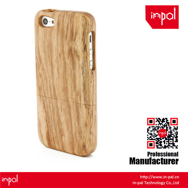 Custom design engraved recycled real wooden mobile phone case for iphone 5 for wholesale
