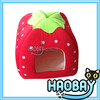 Pink strawberry shape warm igloo dog houses