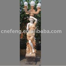 Cream Stone Sculpture