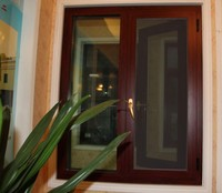 Casement Windows with Fixed Glass Windows