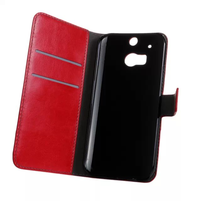 Alibaba express slim leather stand case for HTC one m8