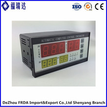 FRDA intelligent panel control hatching digital chicken egg incubator with temperature sensor
