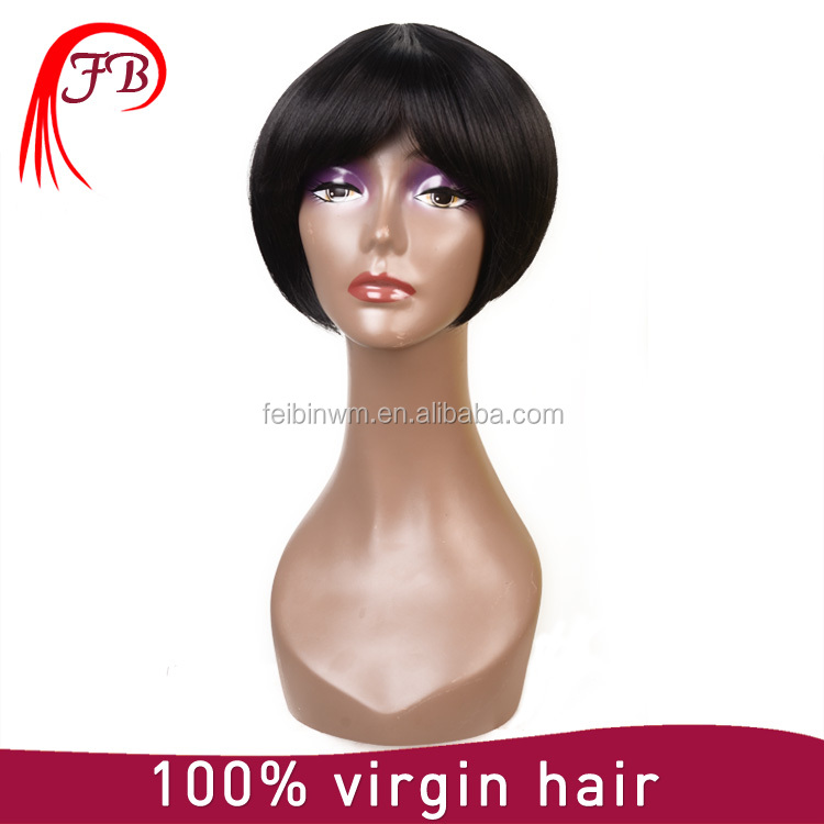 New Design Cheap Wholesale Wigs Synthetic Wigs Buzz Cut Wig