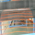 High strength plastic orange safety mesh barrier
