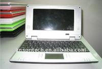 "7"" laptop hottest mini laptop wince os laptop"