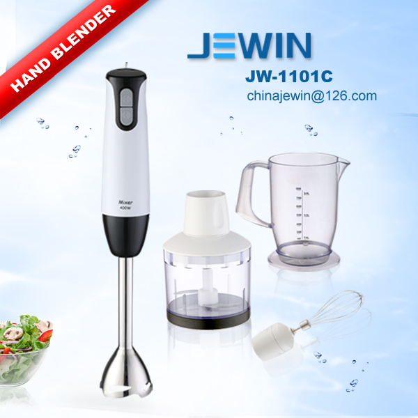High power hand blender set with multi function kitchen living