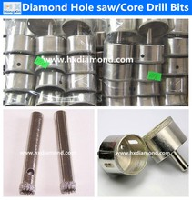 price in china electroplated diamond glass hole saw drill bits core drill bit for optical glass