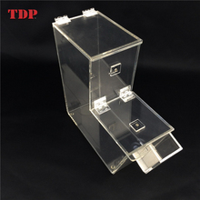 3 Gallons Stackable Clear Mini Acrylic Candy Bins Dispenser Box Wholesale with Scoop