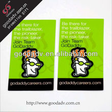 Mobile phone cleaning stickers/cell phone screen cleaner sticker