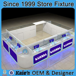 2016 new design mobile phone shop display furniture mobile shop display counter