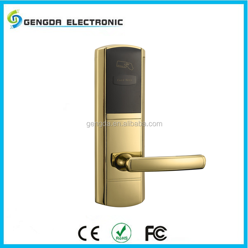 Easy to install electronic key door lock with software