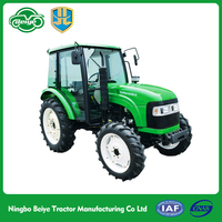 China supplier 55hp 4WD China mini agriculture tractor for paddy