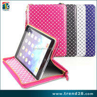 alibaba wholesale zipper leather case for ipad air