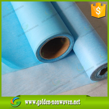 Hydrophobic sms nonwoven fabric for disposable medical gowns and hospital gown fabric