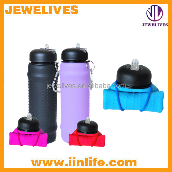 New product of outdoor camping folding water bottle