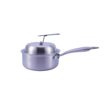 Durable In Use China Manufacturer a large stainless steel sauce pan and milk boiling pot price