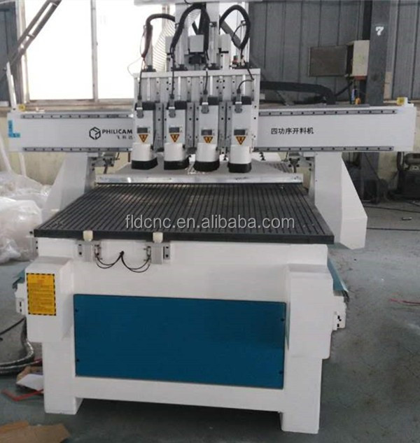 automatic wood carving machine cnc router with atc