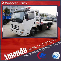 Dongfeng 4*2 cheap tow truck for sale, medium duty custom tow trucks, 6000-8000kg tow truck