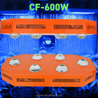 High power less heat and small hydroponics system 1000w CXB3590 led grow lights