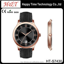 Sapphire Brand Genuine Leather Quartz Wrsit Watch,Fashion Wrist Watch