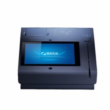 EMV approved T508A(Q) POS android terminal with wifi/bluetooth/GPS/3G/MS card reader/IC card reader/NFC/printer/cash drawer