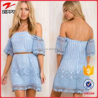 2016 New design clothing off shoulder dress lace dress women off shoulder trendy clothing