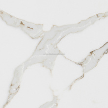 Veined Collection Calacatta White Quartz Stone/Calacatta White Quartz Slabs
