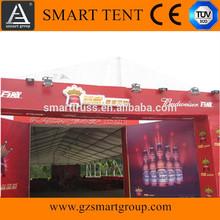 big aluminum party canopy tent for outdoor events