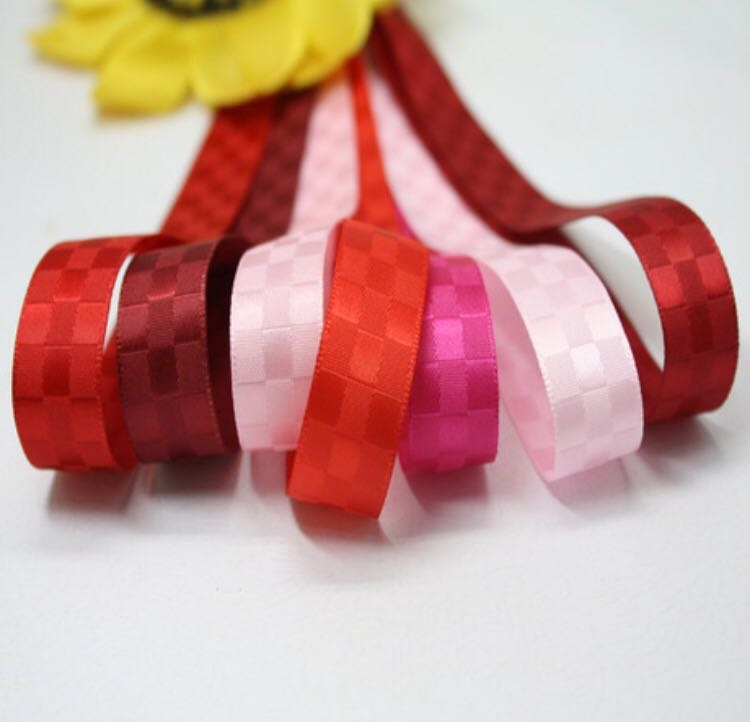 Gift ribbon of pattern ribbon for christmas ribbon