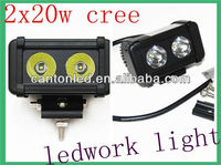 20w LED Flood beam Work Light Bar Lamp Off road ATV 4WD