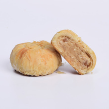 Peanut beans paste filled mooncake chinese traditional yummy moon cake with retail packaging