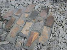 Promotional irregular slate tiles with low price