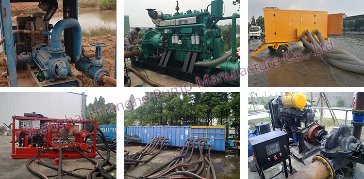 diesel engine driven farm water pump generator self priming good quality
