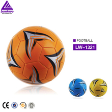 wholesale Lenwave branded soccer balls Official size 5 custom print pvc promotional soccer ball