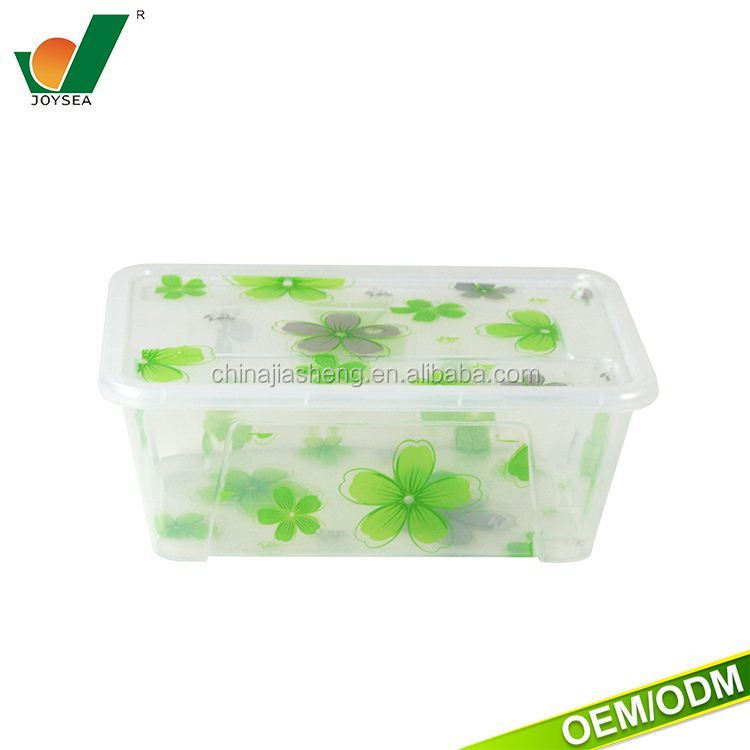 2017 clear color water Food grade customized logo square food safe clear plastic boxes plastic picnic food container
