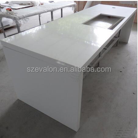 prefabricated solid surface countertop , custom made countertops,solid surface kitchen countertop