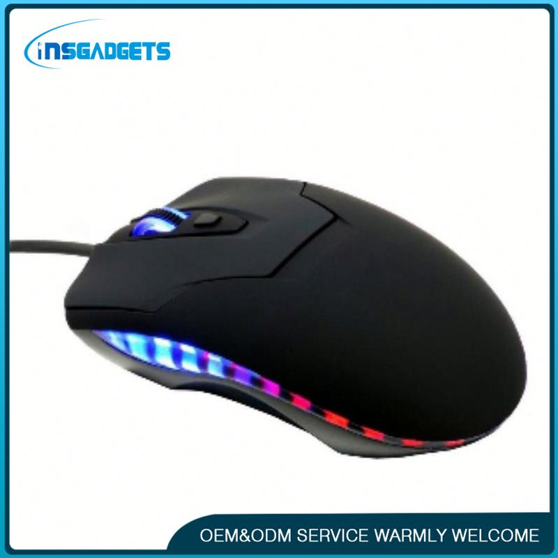 Thin wireless mouse h0tDg usb optical wired gaming mouse for sale