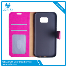 Shock proof credit card phone cover card slot for samsung galaxy s 7 wallet cell phone spare parts