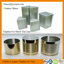 Prime Quality Tinplate Steel Sheet for Metal Paint Tin Cans Production