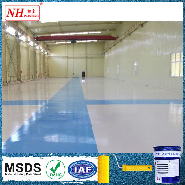 Solvent-Free Polyurethane Floor Paint /Concrete Coating For Garage/warehouse